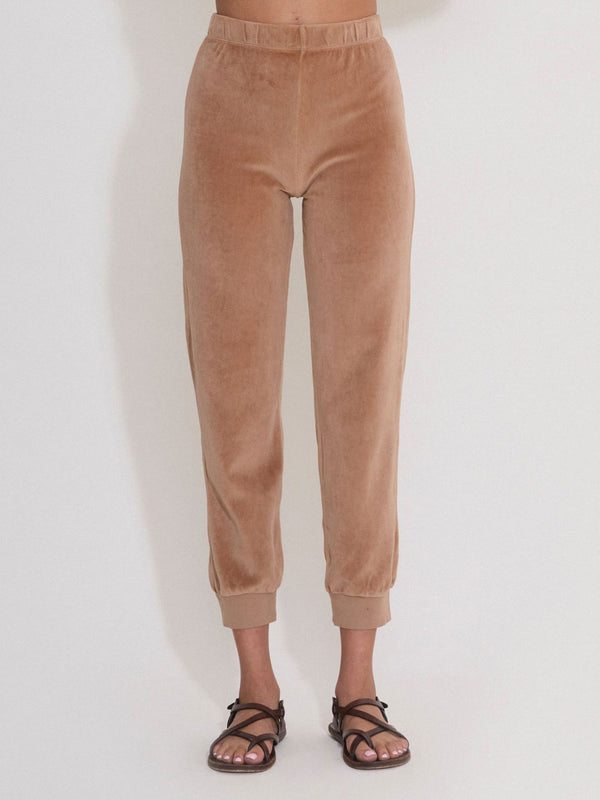 Slim Track Pants - Camel