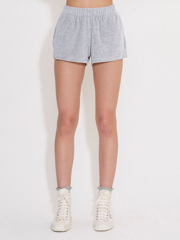 Track Shorts - Grey Marle