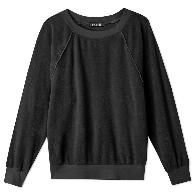 Raglan Top - Black