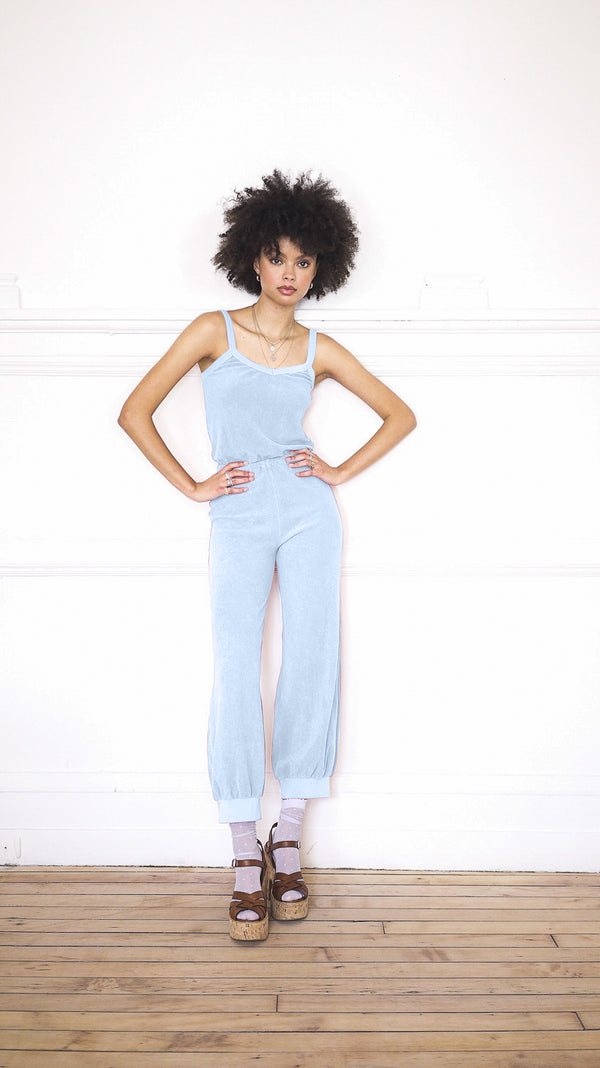 Tank Jumpsuit - Powder Blue