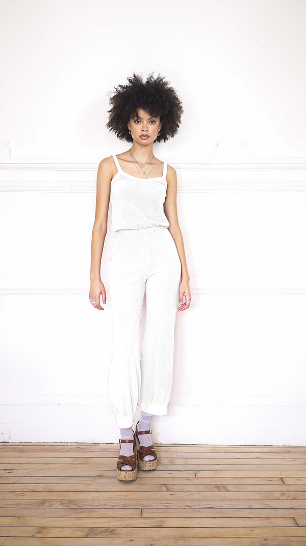 Tank Jumpsuit - White