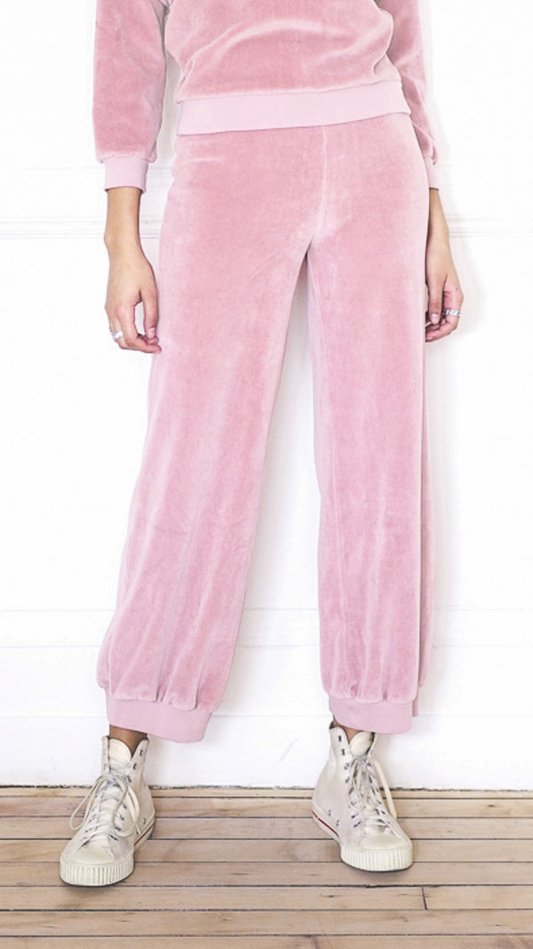 High Waist Harem Pants - Salmon