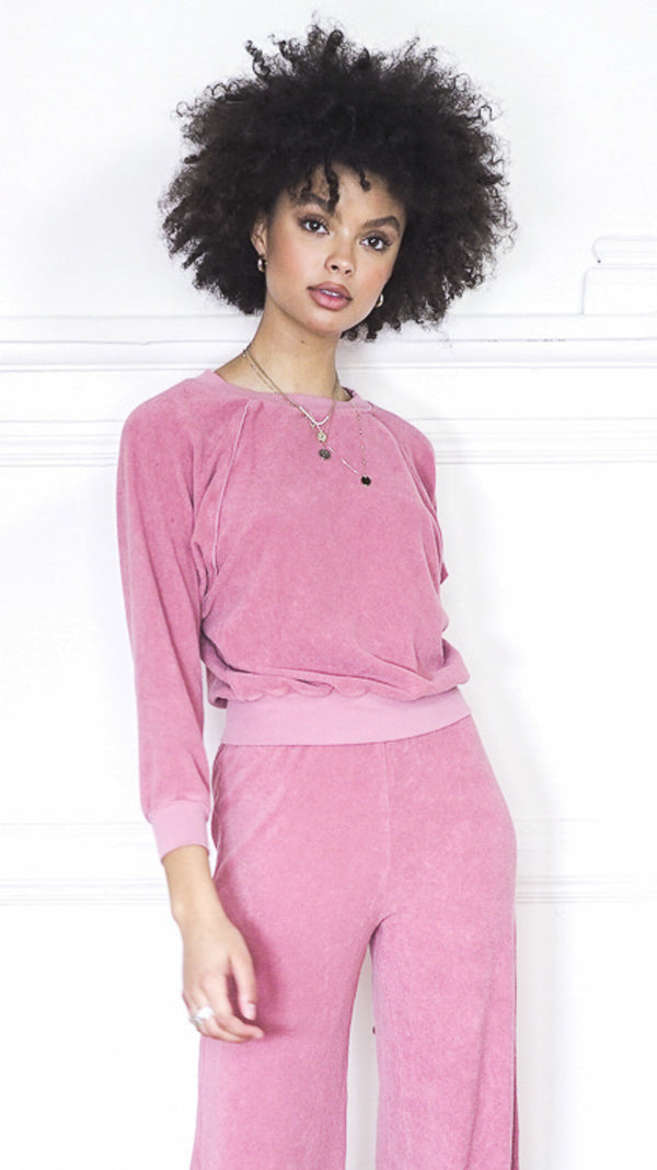 Raglan Top - Desert Rose