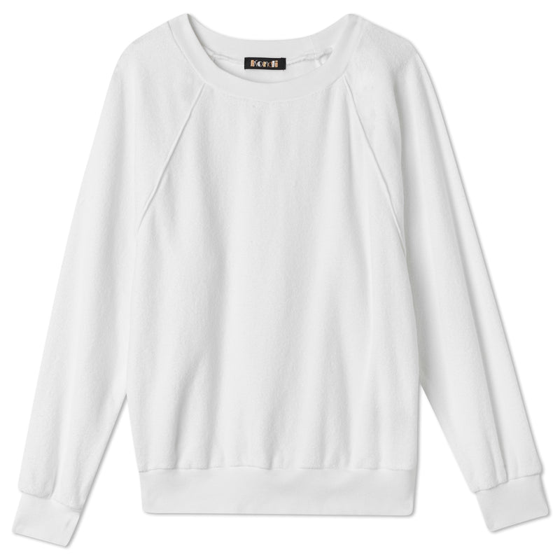 Raglan Top - White