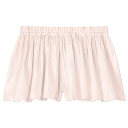 Lurex Play Shorts - Salmon
