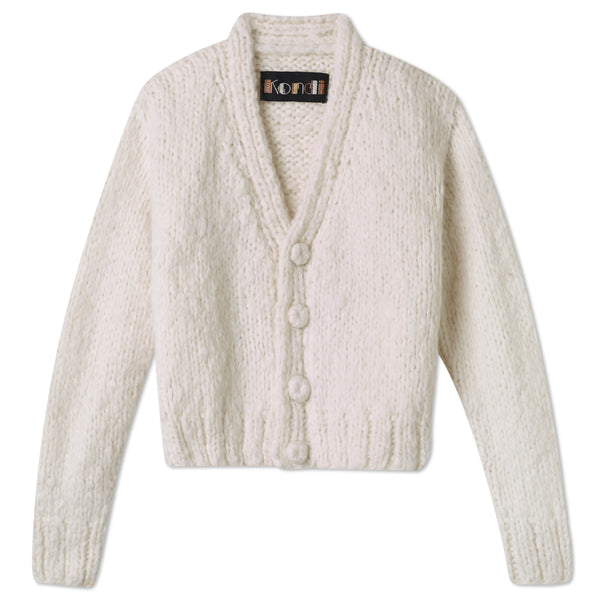 Pre-Order: Cashmere Cardigan - Marshmallow