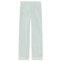 Kids Track Pants - Sea Foam Velour
