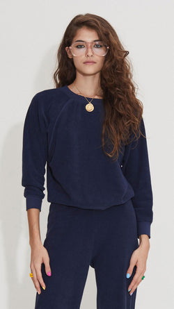 Raglan Top - Navy