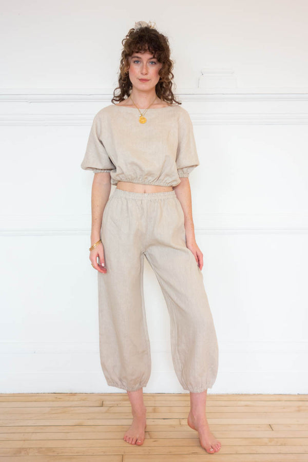 Safari Pants - Natural