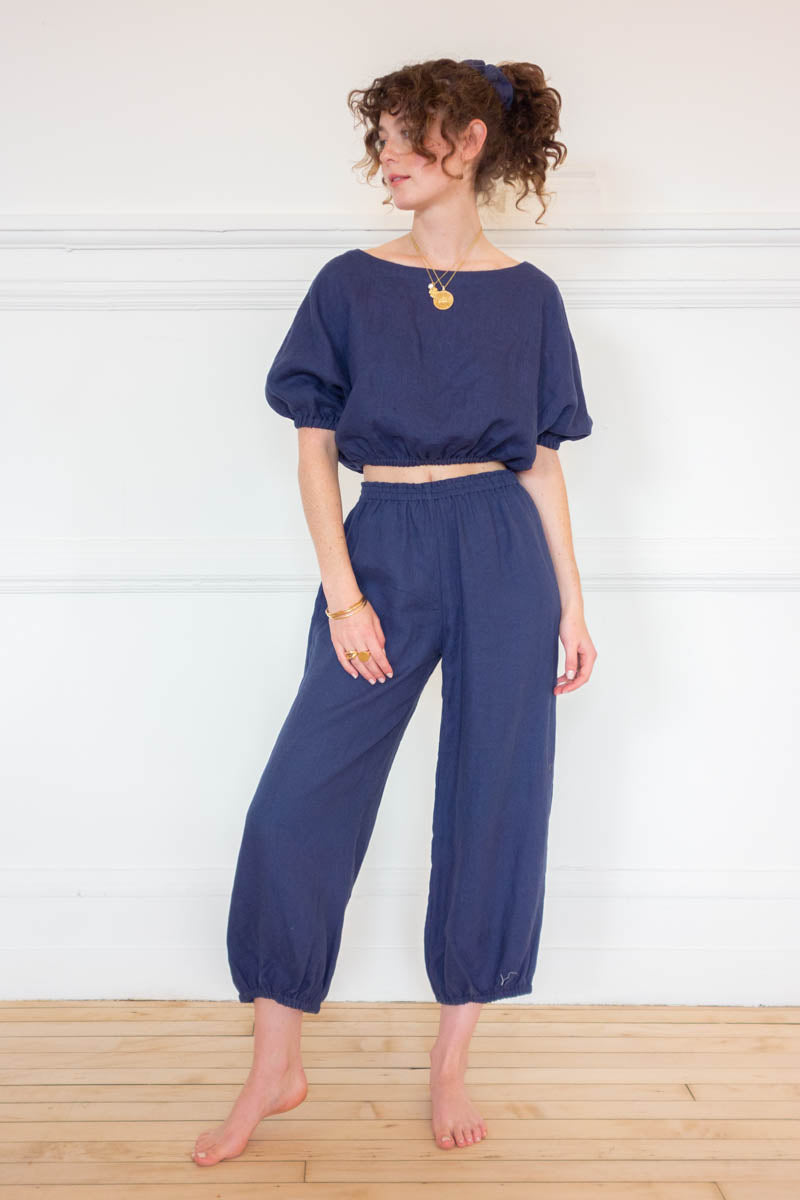 Safari Pants - Navy