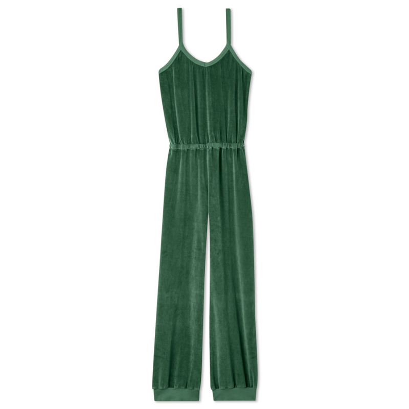 Tank Jumpsuit - Bottle Green