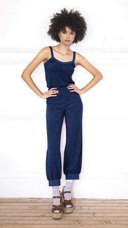 Tank Jumpsuit - Navy