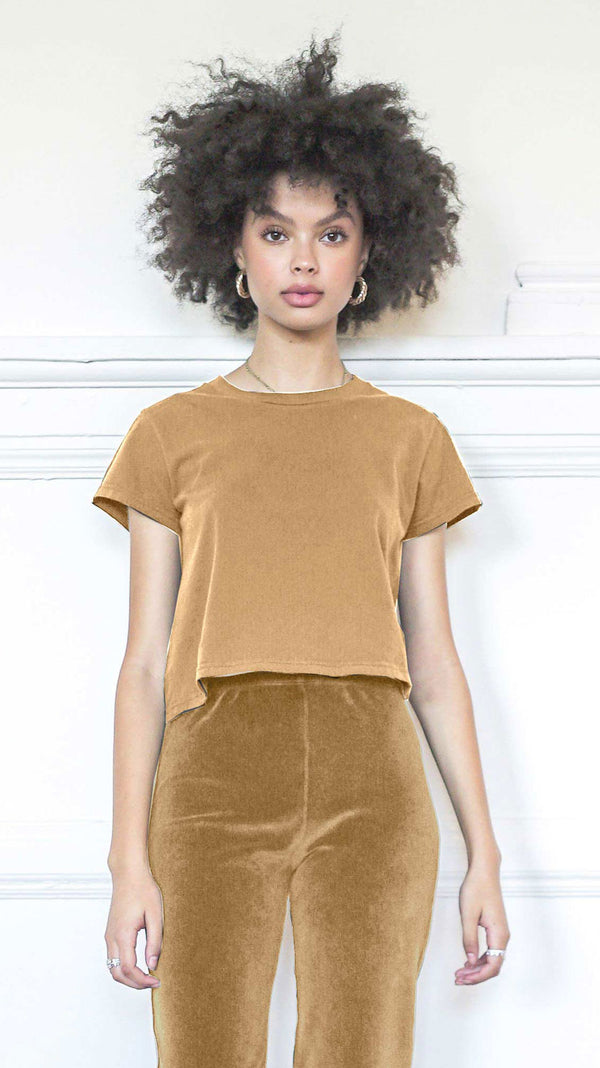 Cropped T-Shirt - Teddy