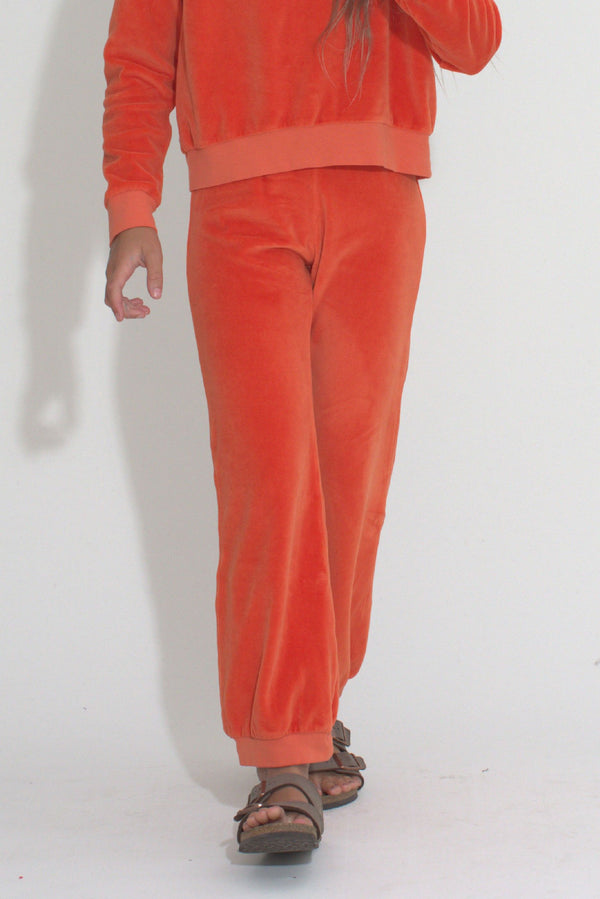 Kid's Track Pants - Clementine