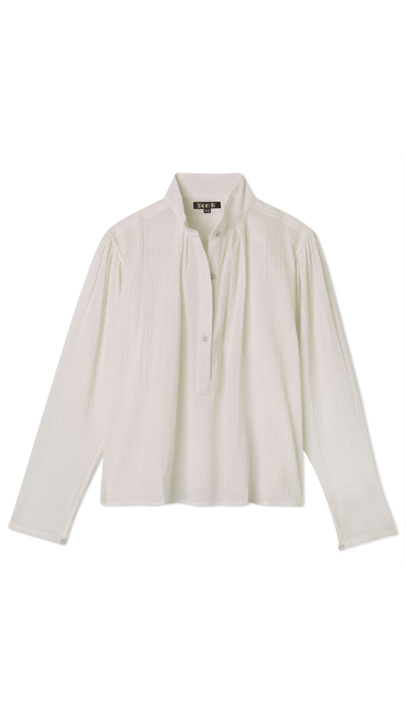 Poet's Blouse - White