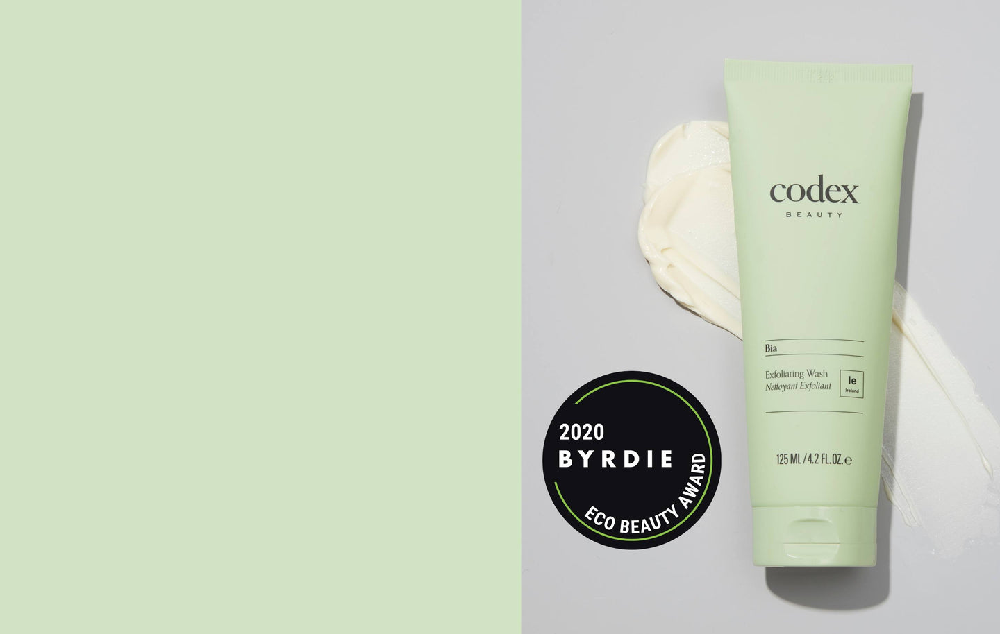 Bia Exfoliating Wash took home 'Best Exfoliator' in Byrdie Beauty's 2020 Eco Beauty Awards. This cleanser provides light exfoliation without irritating skin, and is gentle enough for everyday use.