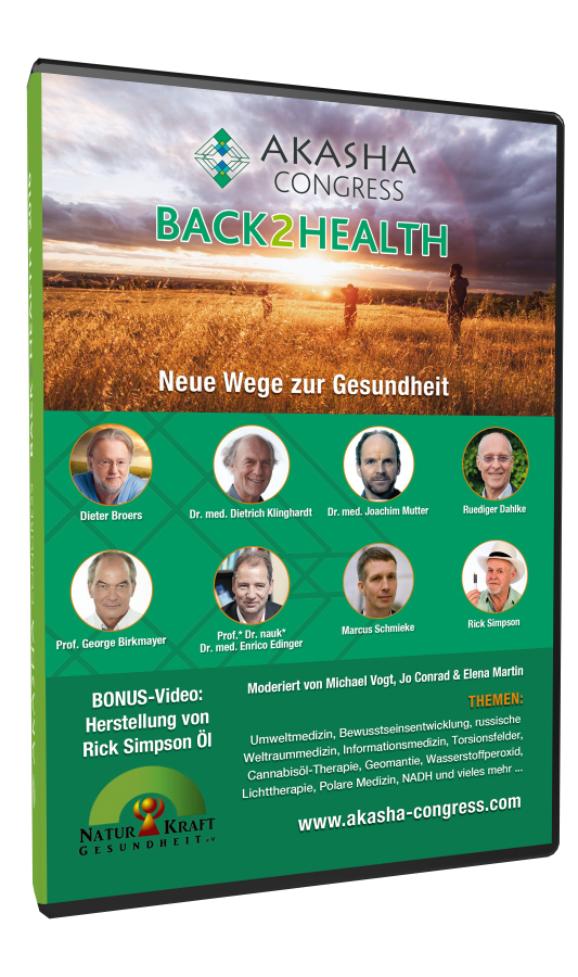 """Back2Health"" - Akasha Congress 2016 auf 3 DVD"