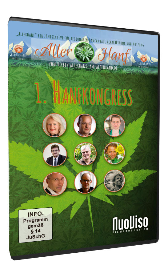 1. Hanfkongress 2017 (2 DVDs)