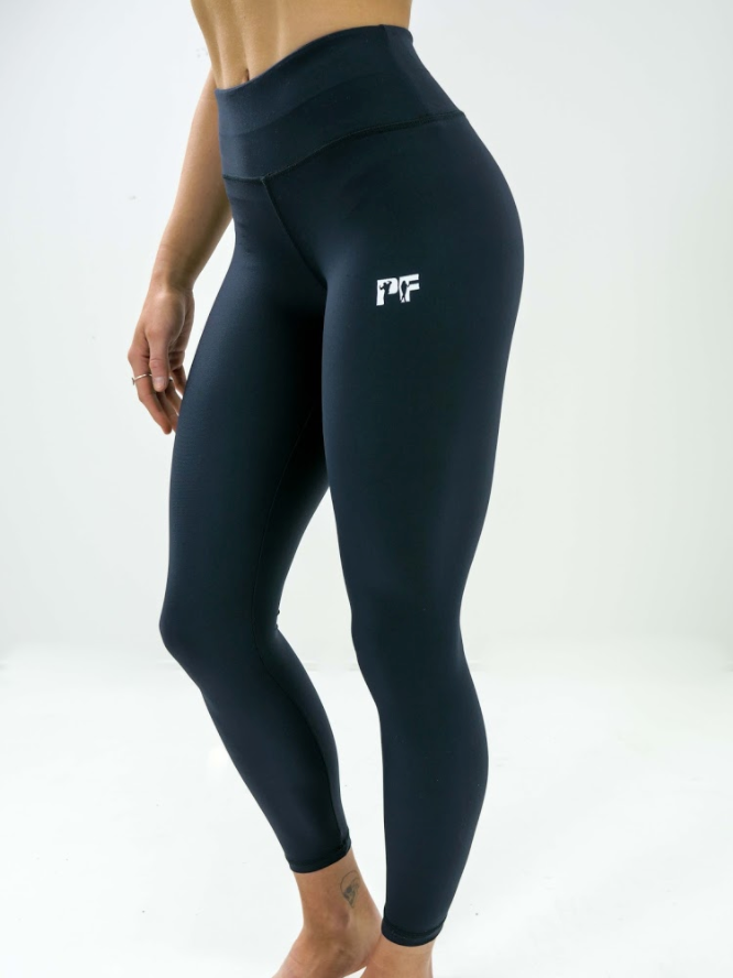 PFW Classic Full Length High-Waisted Black Leggings