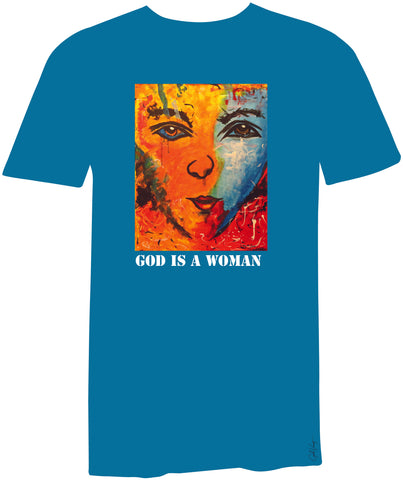 God is a Woman -T-shirt exclusive edition for mother's day