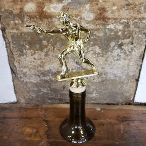 Police Officer Trophy Wine Stopper