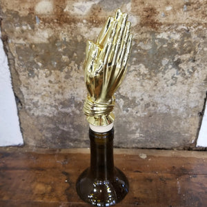 Praying Hands Trophy Wine Stopper