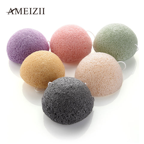AMEIZII 1 Pcs Konjac Face Robot Discharge Makeup Foundation Sponge Cosmetic Puff  Powder Puff Beauty Makup Tools - Candid Lady