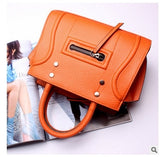 Cowhide Genuine Leather Women Messenger Bags bolsa feminina top selling high quality handbag fashion Lolita style for girls 2017 - Merla's Vault