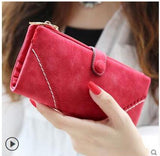 2018 Fashion Wallet Women's Purse Wallet Card Holder Female Clutch Long Purse Multi-card Bit Luxury Designer Lady Coin Purses - Candid Lady