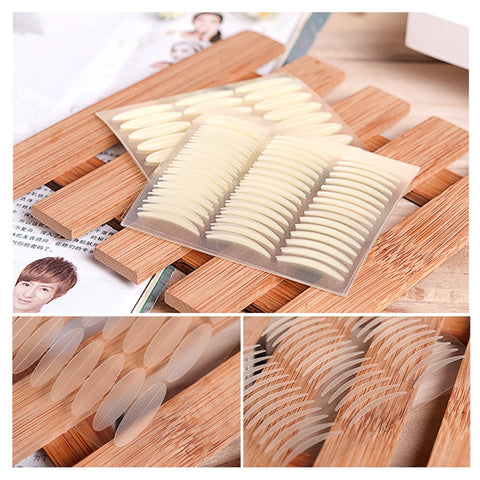 1056pcs Makeup Eyelid Tape Sticker Big Eyes Eyelid Stripe Decoration Invisible Strong Adhesive Double Eye Tape Tools - Candid Lady