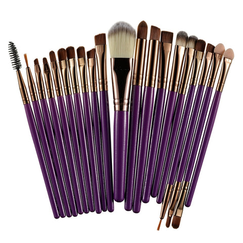 ROSALIND 20pcs Eye Makeup Brushes Set Eyeshadow Brush Powder Foundation Eyeshadading Eyebrow Lip Eyeliner Brush Cosmetic Tool