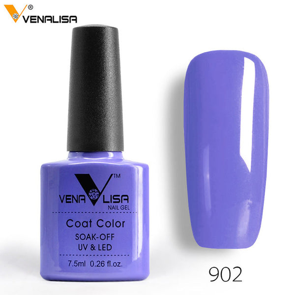 7.5ml VENALISA Nail Gel Polish High Quality Nail Art Salon 60 Colors Soak off UV LED Nail Gel Varnish Camouflage Color Lacquer - Candid Lady