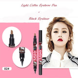 1 Pcs Waterproof Black Brown Blue Purple Liquid Eyeliner Women Professional Beauty Eye Liner Pencil Pen Makeup Tools - Candid Lady