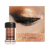 FOCALLURE full professional Makeup Glitter Eyeshadow Powder Waterproof Metallic Cosmetic Eyes Pigment shadow palette