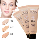 2018 New Brighten Base Makeup Kit Sun Block Long Lasting Waterproof Face Whitening Brand Foundation Hengfang BB Cream - Candid Lady