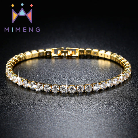 Super Shining Zirconia Tennis Bracelets & Bangles for Women Christmas Gifts New Fashion Jewelry Bracelets rose gold bracelet
