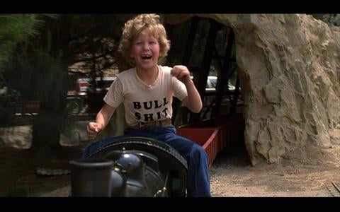 Top 25 graphic t shirts in movies, bull shit t shirt