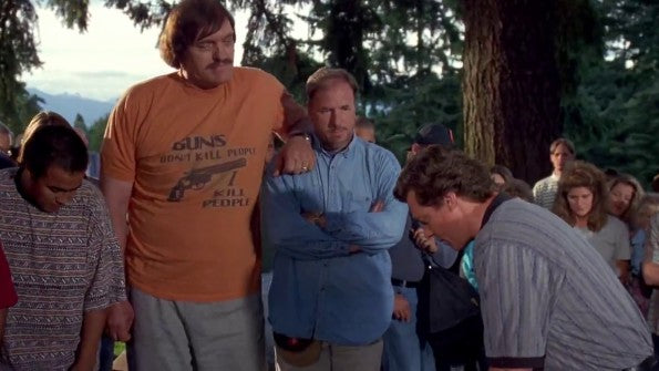 Top 25 graphic t shirts in movies, Happy Gilmore