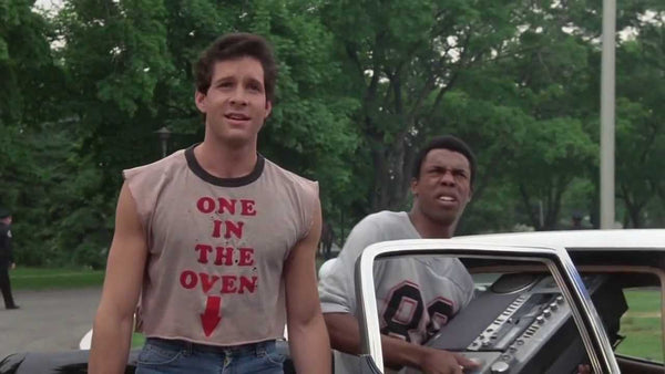 Top 25 graphic t shirts in movies, One in the oven shirt