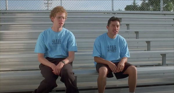 Napoleon Dynamite PHS Physical Education blue gym t-shirt