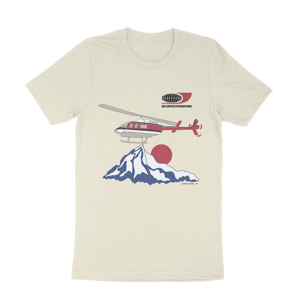 Dynamite Duds Napoleon Dynamite air services international helicopter shirt