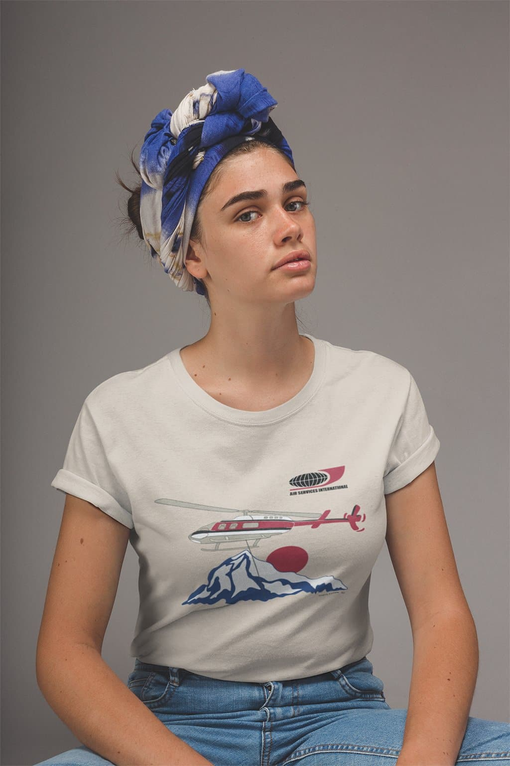 Dynamite Duds Napoleon Dynamite air services International helicopter t-shirt woman
