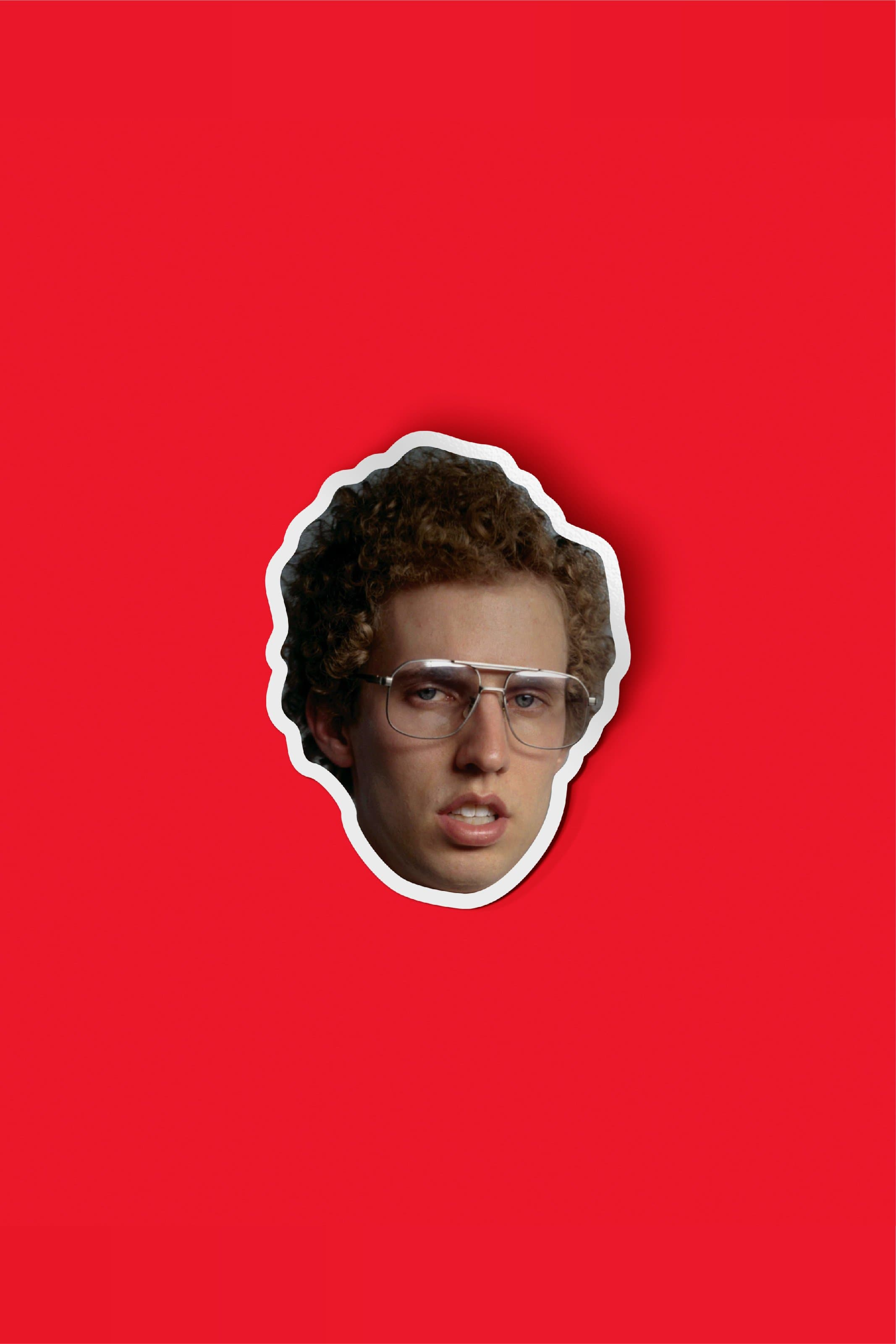 Napoleon Dynamite Face Sticker