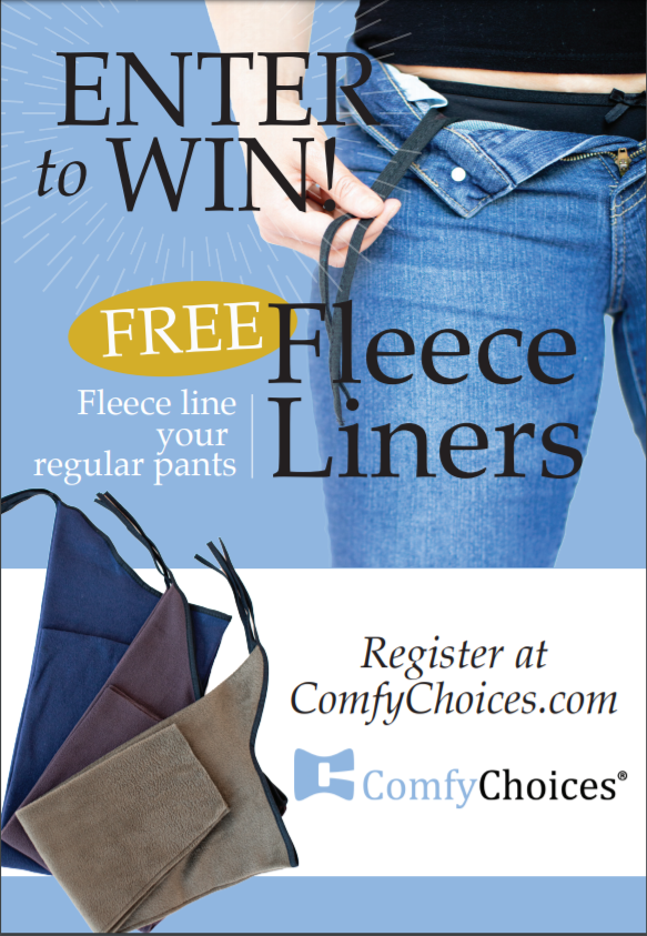 Enter to win a pair of ComfyChoices Fleece Lining