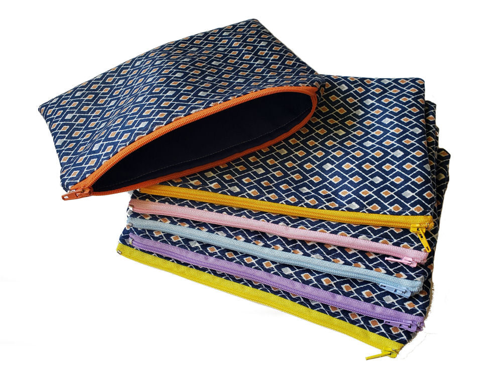 Fabric Zipper Pouches