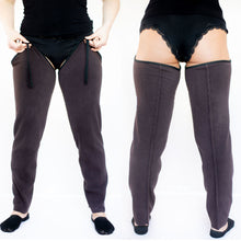 Load image into Gallery viewer, ComfyChoices® No-Bulk Fleece Lining Turn Summer Pants into Fleece-lined Pants