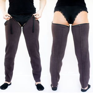 ComfyChoices® No-Bulk Fleece Lining Turn Summer Pants into Fleece-lined Pants