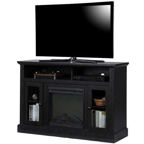 Image of Chicago Electric Fireplace TV Console for TVs up to a 50""