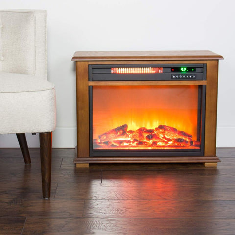 Image of Lifesmart Large Room Infrared Quartz Fireplace