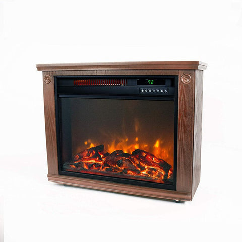 Lifesmart Large Room Infrared Quartz Fireplace